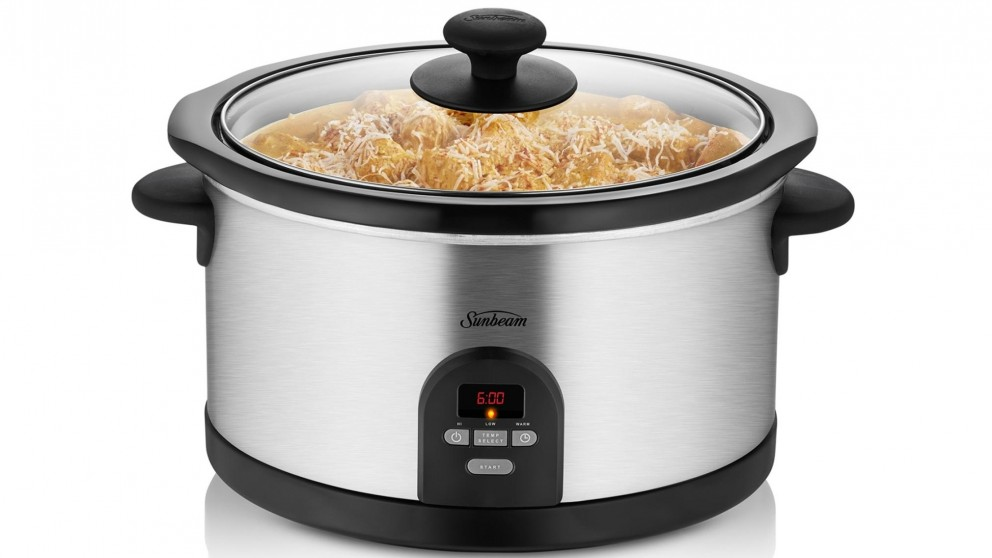 Buy Sunbeam Digital Slow Cooker | Harvey Norman AU