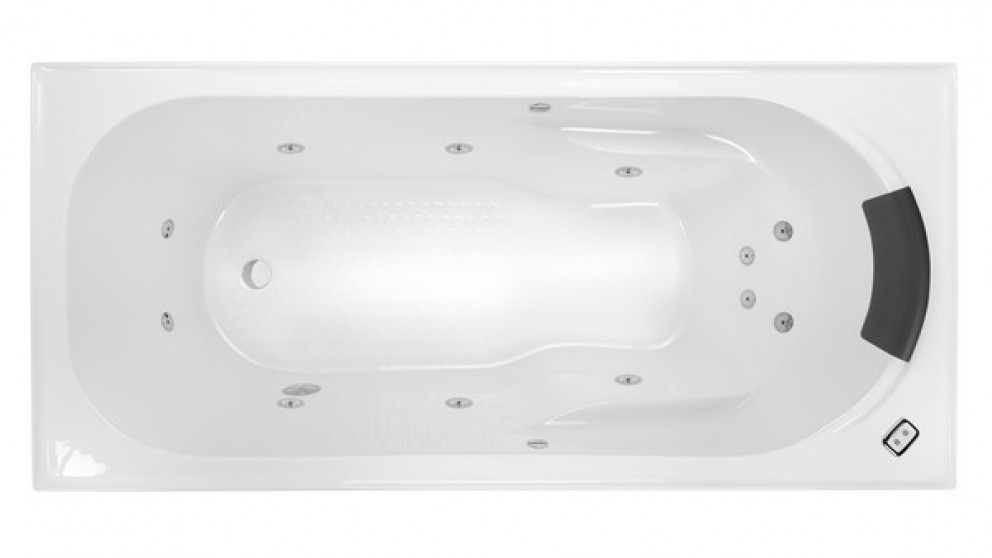 Decina Modena 1790mm 12 Jet Contour Spa Bath
