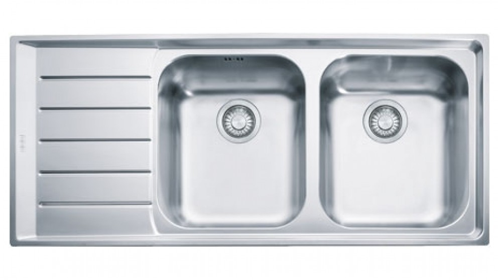 Franke Neptune NEX621 Right-Handed Stainless Steel Kitchen Sink