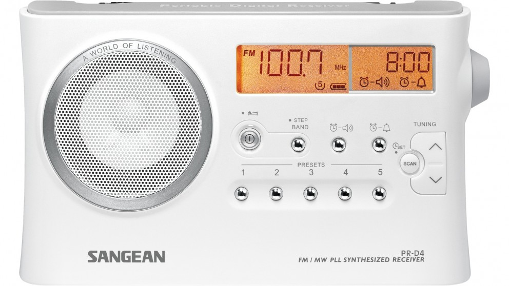Sangean FM/AM Portable PLL Synthesized Receiver