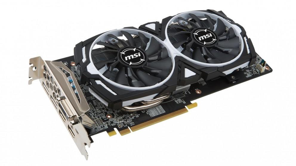 MSI AMD Radeon RX580 Armor ITX 8GB Graphics Card