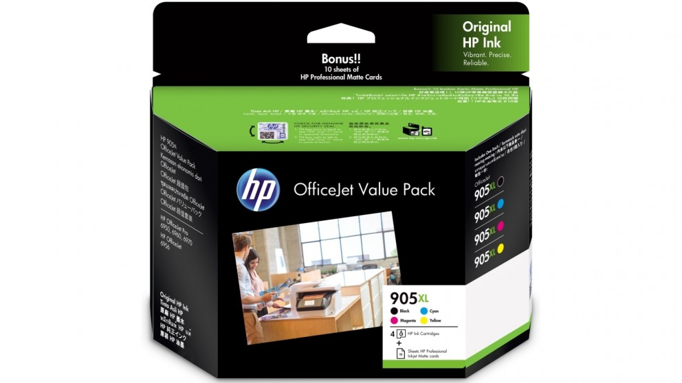 HP 905XL HIgh Yield Ink Office Value Pack