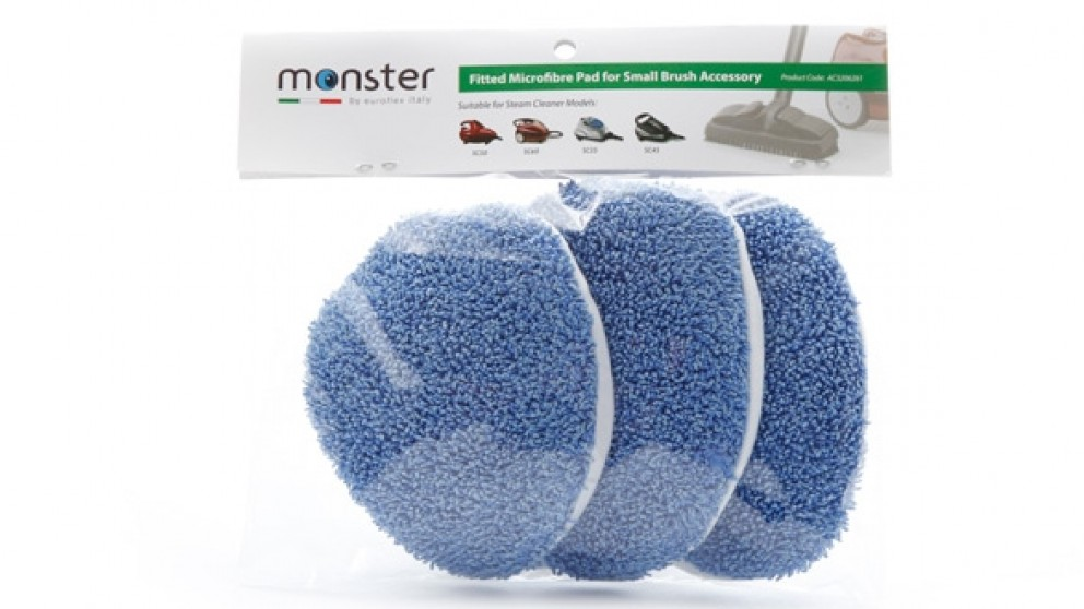 Euroflex Steam Cleaner Replacement Fitted Microfibre Pad