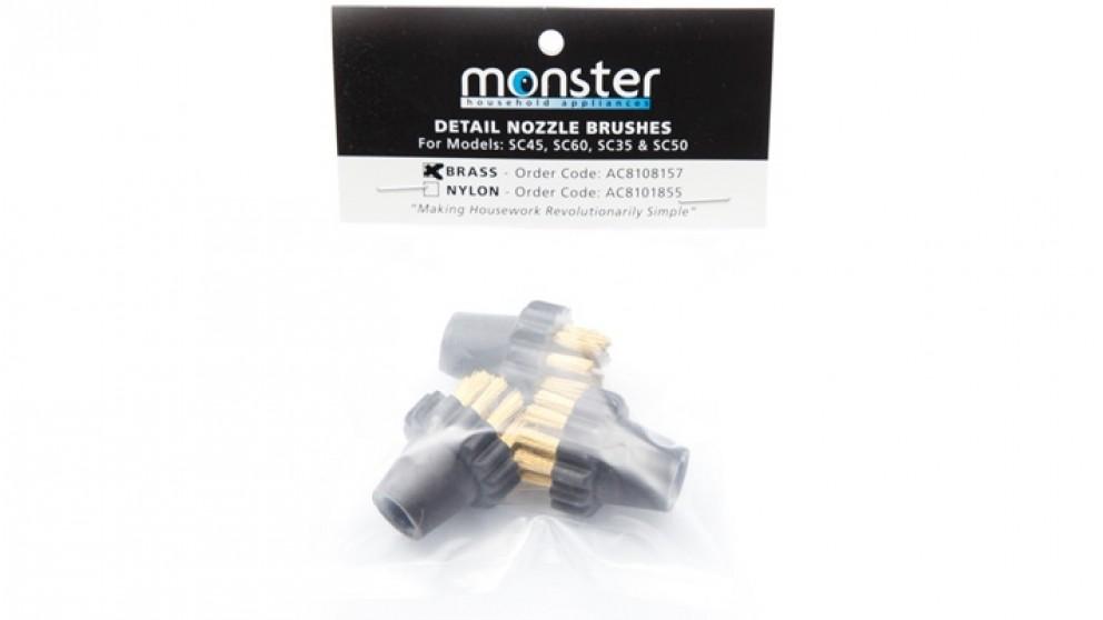 Euroflex 3 Pack Brass Brush