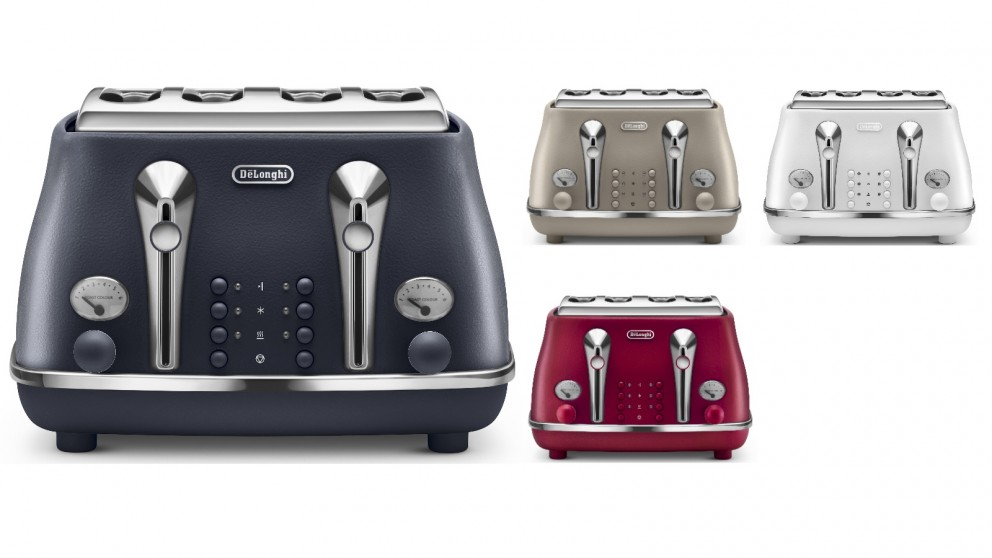 DeLonghi Icona Elements 4 Slice Toaster