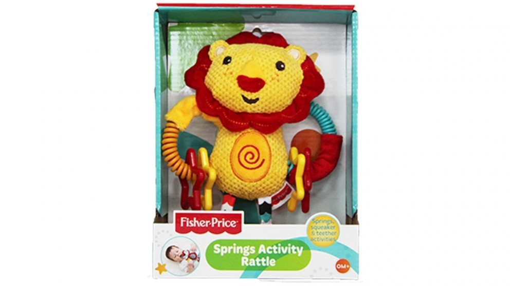 Fisher Price Baby Spring Activity Rattle