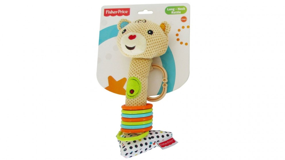 Fisher Price Long-Neck Squeaker Rattle Toy
