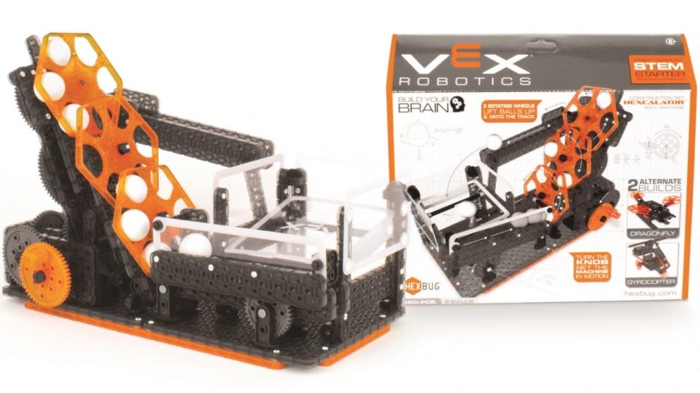 Vex Robotics Hexcalator Ball Machine