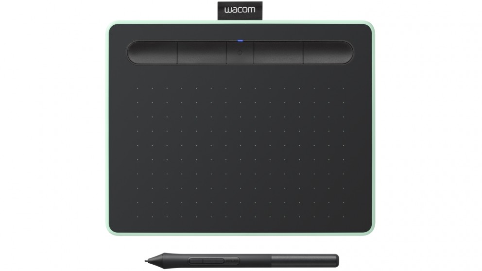 Wacom Intuos Small Creative Pen Tablet with Bluetooth - Pistachio