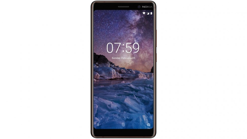 Nokia 7 Plus with Android One - Black Copper