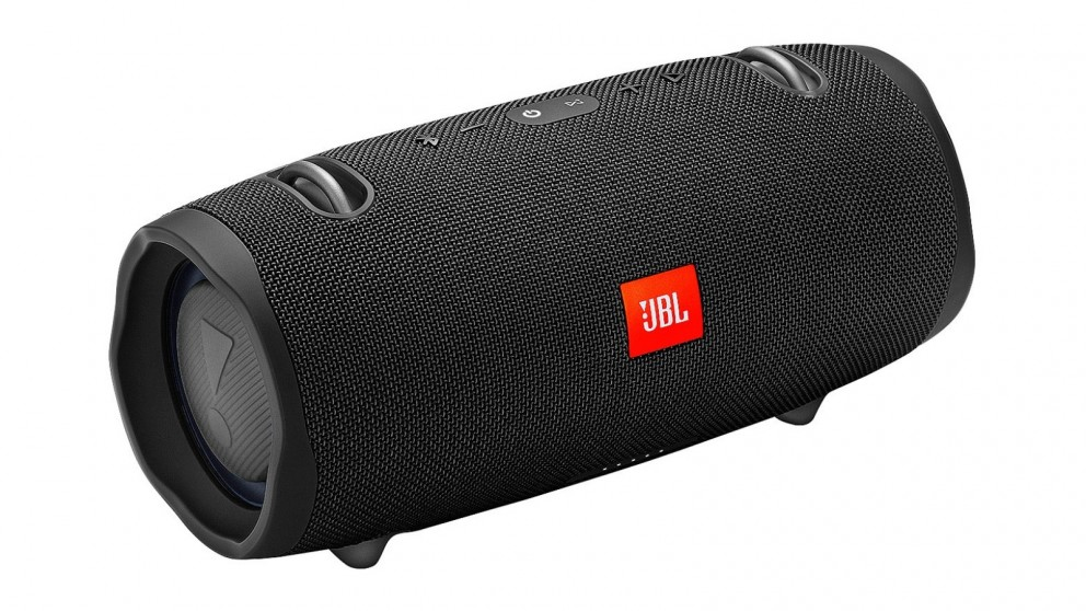 buy jbl xtreme 2 portable bluetooth speaker black harvey norman au. Black Bedroom Furniture Sets. Home Design Ideas