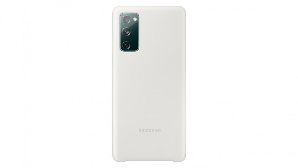 Samsung Galaxy S20FE Silicone Cover - White