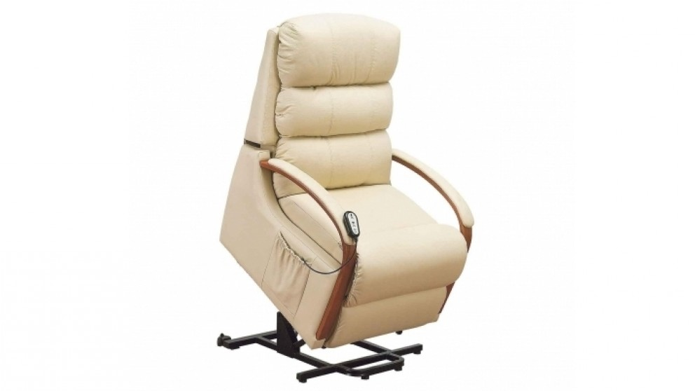 Charleston Leather Lift Chair - Recliner Chairs - Living Room - Furniture Outdoor u0026 BBQs | Harvey Norman Australia  sc 1 st  Harvey Norman & Charleston Leather Lift Chair - Recliner Chairs - Living Room ... islam-shia.org