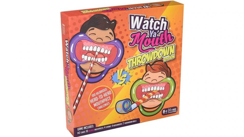 Watch Ya Mouth Throwdown Board Game