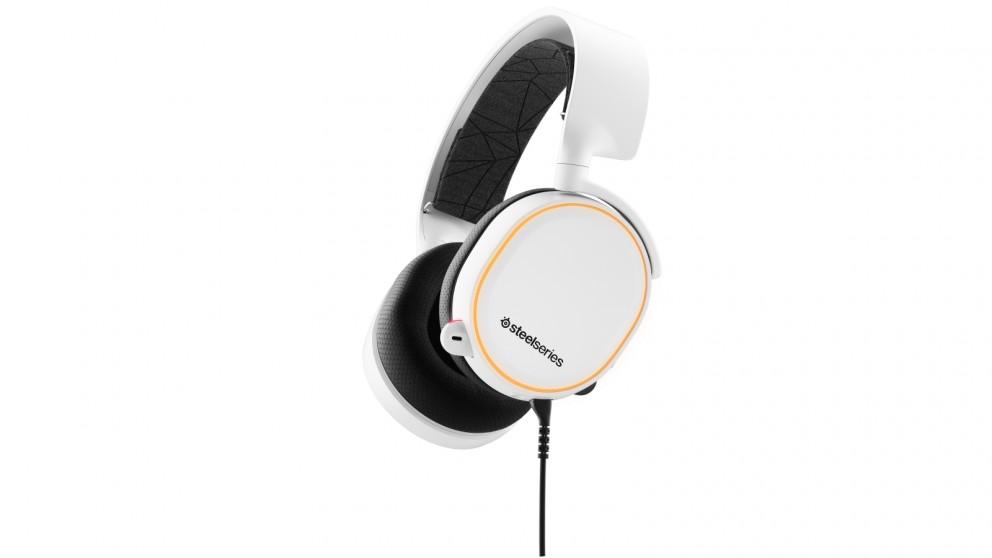 SteelSeries Arctis 5 Gaming Headset - White