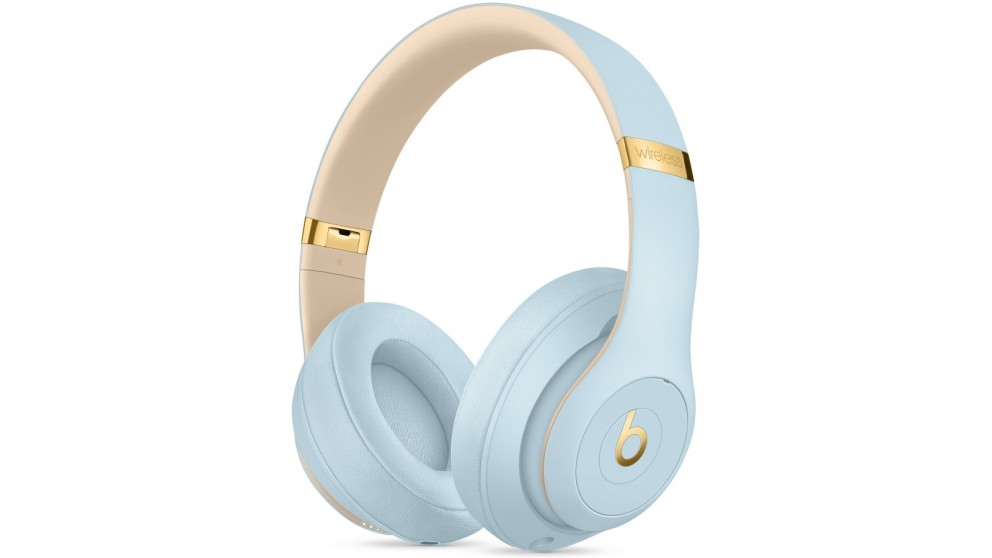 Beats Studio3 Skyline Collection Wireless Over-Ear Headphones - Crystal Blue