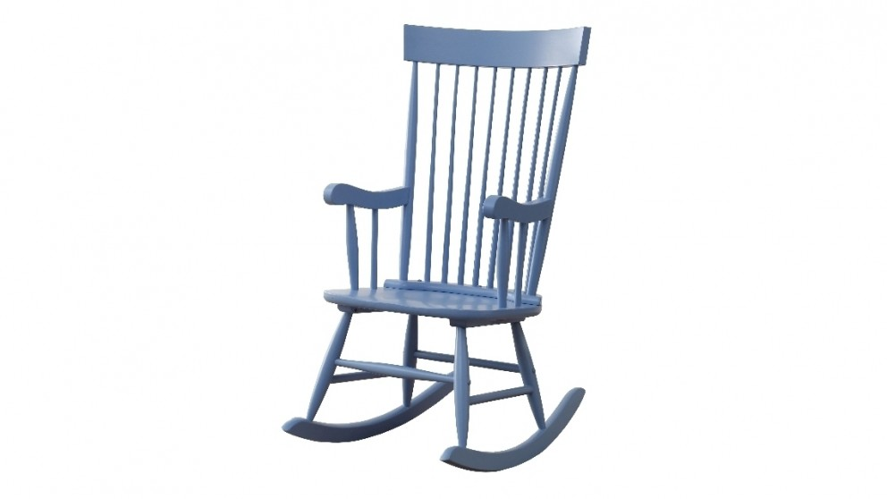 Ruby Rocker Chair - Blue