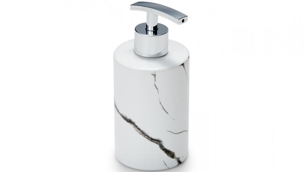 Salt & Pepper Suds Marble Dispenser