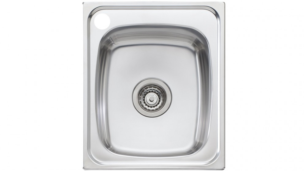 Oliveri Martini 440 Standard Bowl Topmount Sink with 1 Left Hand Tap Hole
