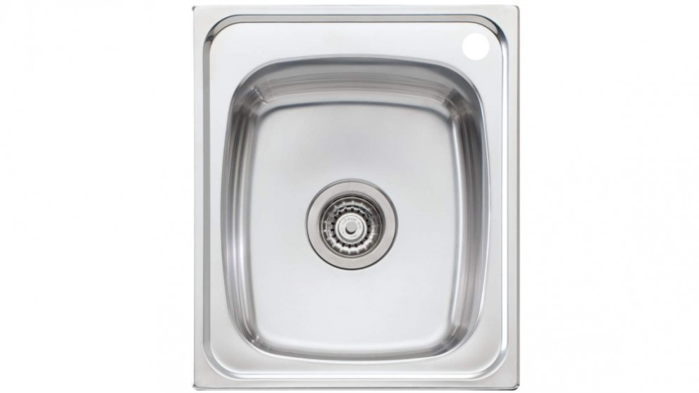 Oliveri Martini 440 Standard Bowl Topmount Sink with 1 Tap Hole