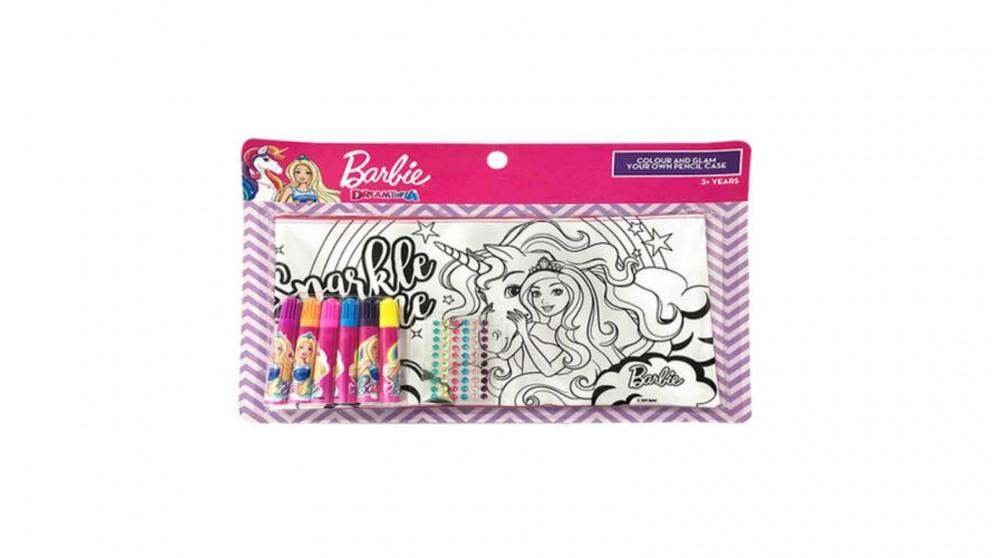 Barbie Colour and Glam Pencil Case