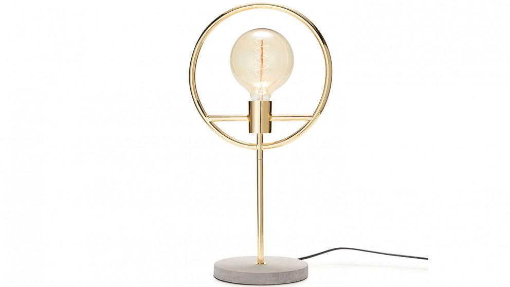 Salt & Pepper Georgia Table Lamp - Gold