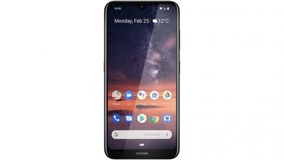Nokia 3.2 16GB with Android One - Black