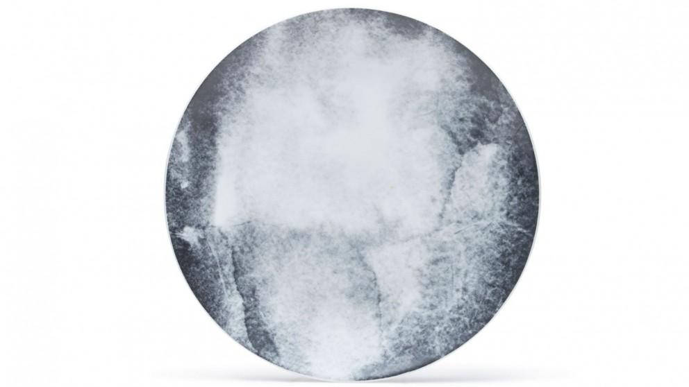 Salt & Pepper Masonry Grunge Dinner Plate