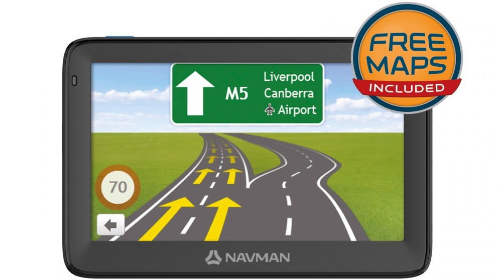 Navman MOVE120M 5-inch GPS Navigator