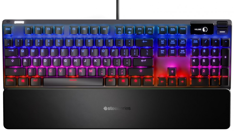 SteelSeries Apex Pro Mechanical Gaming Keyboard with Adjustable Mechanical Switch