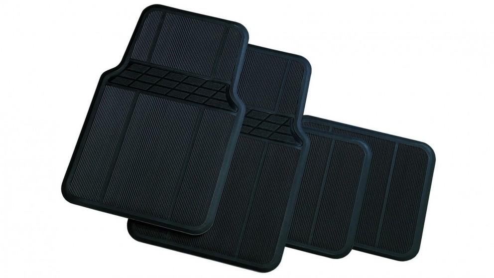 Carfit Classic Rubber Car Floor Mat 4 Piece Set