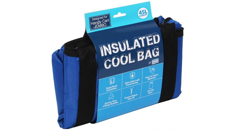 White Magic Handy Cart Insulated Coolbag Jumbo