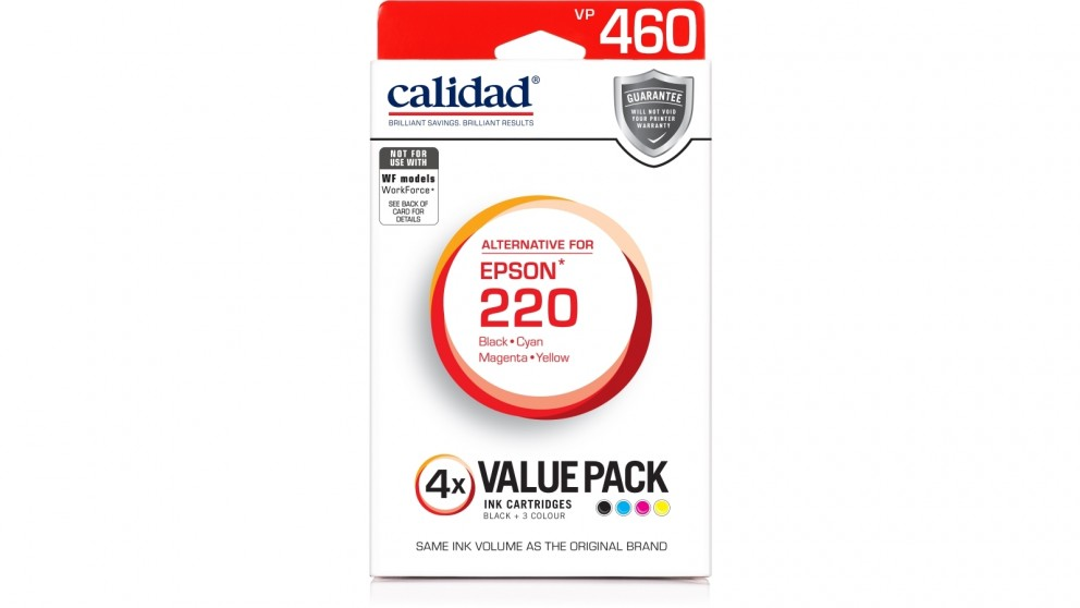 Calidad Epson 220 Value Pack Ink Cartridge