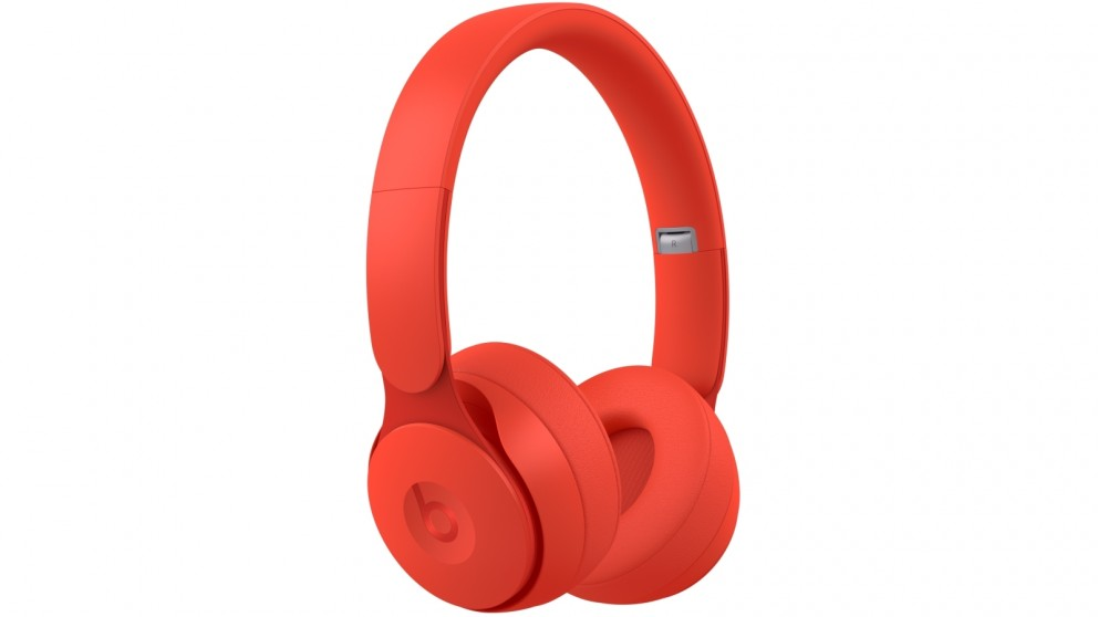 Beats Solo Pro Wireless Noise Cancelling Headphones - Matte Red