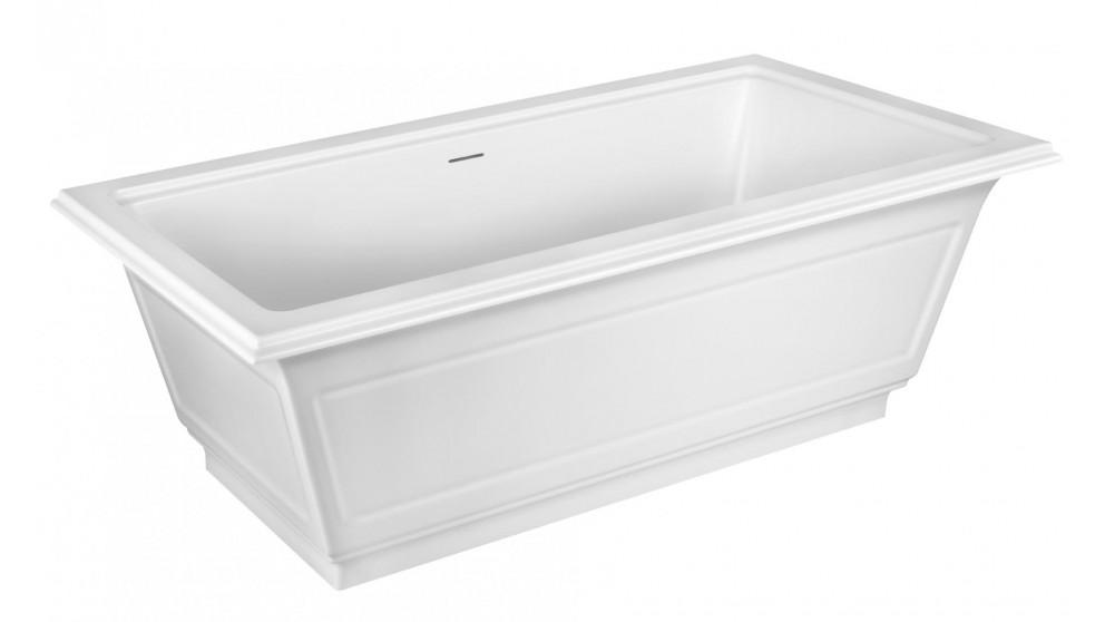 Gessi Eleganza Cristalplant 1800mm Freestanding Bath