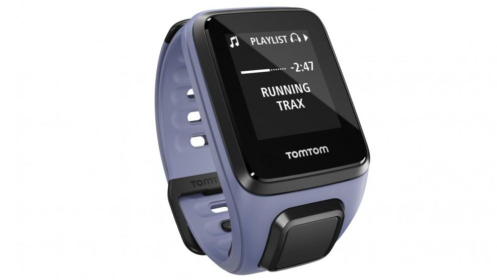 TomTom Spark Cardio + Music GPS Fitness Watch Small - Purple