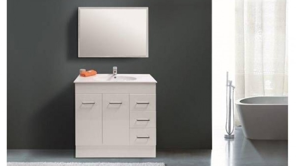 Vanity Bathroom Harvey Norman ledin orion 900mm vanity - bathroom vanities - vanities & basins