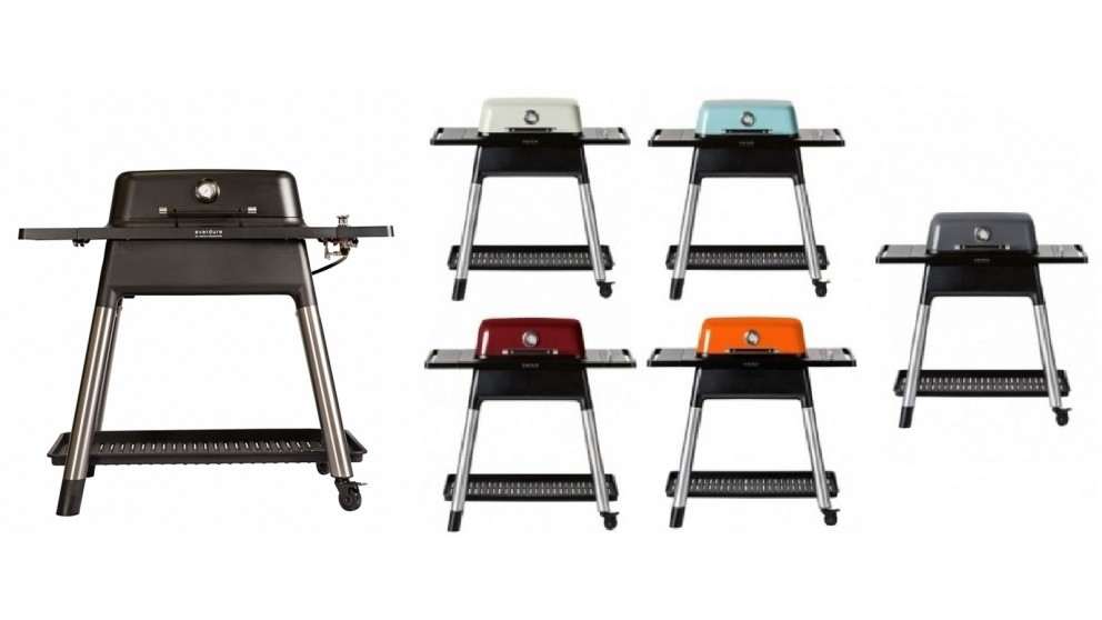 Everdure by Heston Blumenthal FORCE 2 Burner Gas BBQ with Stand