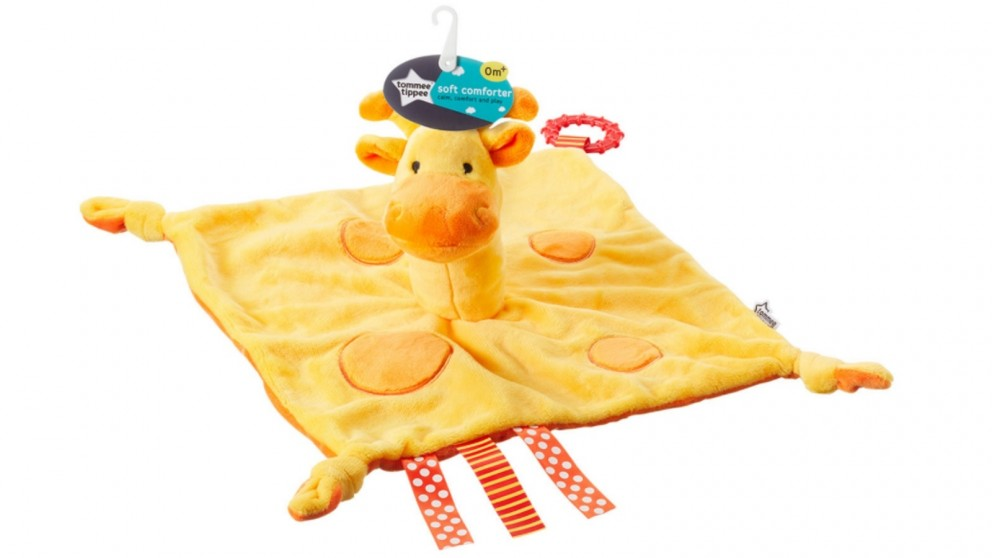 Tommee Tippee Soft Comforter - Giraffe