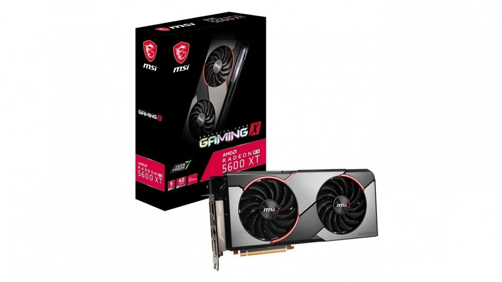 MSI Radeon RX 5600 XT 6GB - Gaming X
