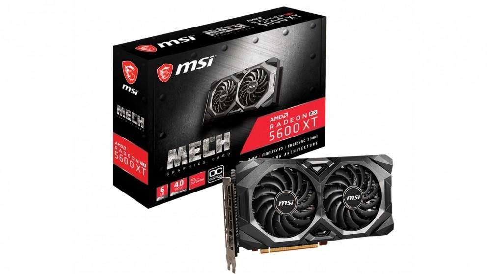 MSI Radeon RX 5600 XT 6GB - Mech OC
