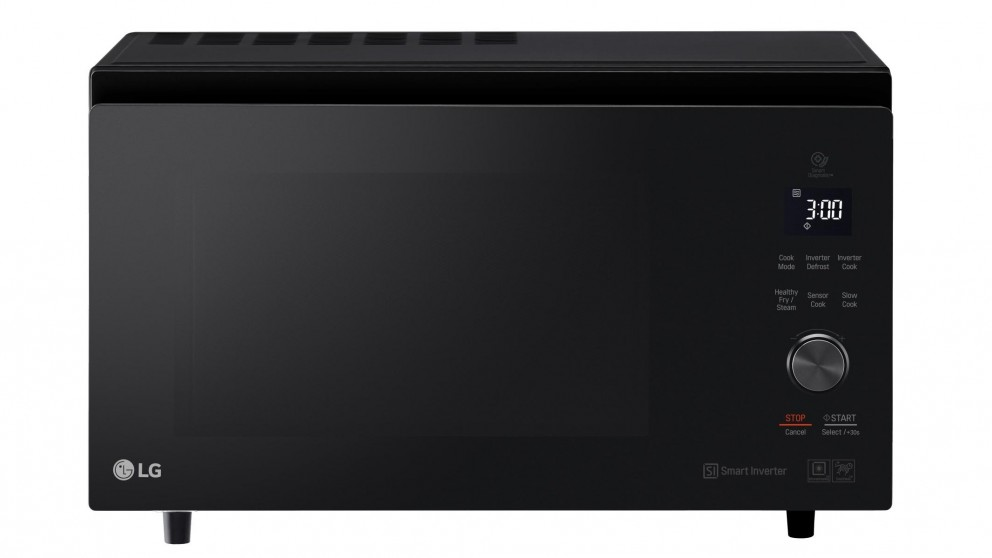 LG NeoChef 39L Smart Inverter Convection Microwave Oven - Black