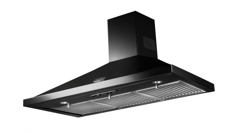 Falcon 900mm Canopy Rangehood - Black