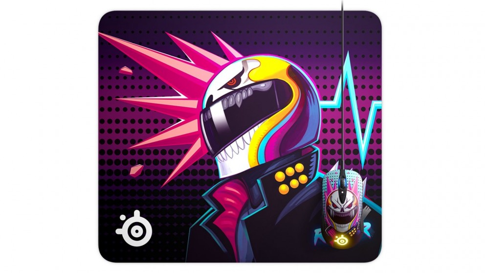 SteelSeries QcK Large Neon Rider Edition Mousepad