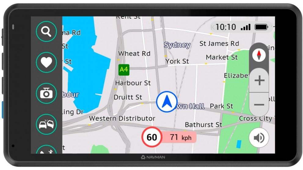 Navman MiCam GPS 5-inch Dash Cam & GPS Device