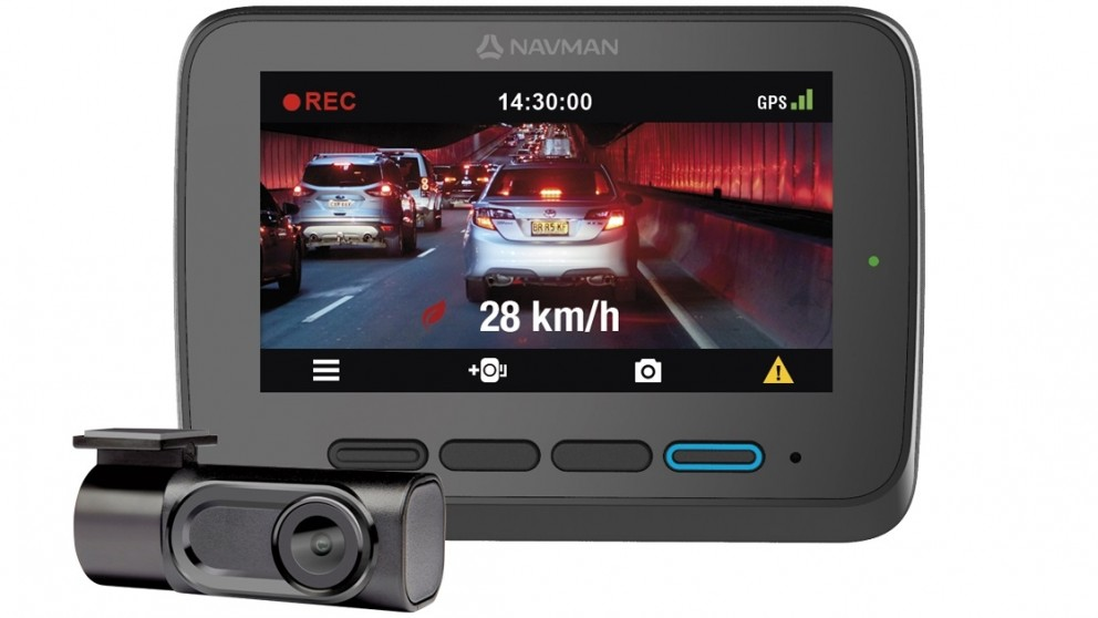 Navman MiVUE1100 Sensor XL Dual Camera Full HD 1080P In-Car Camera