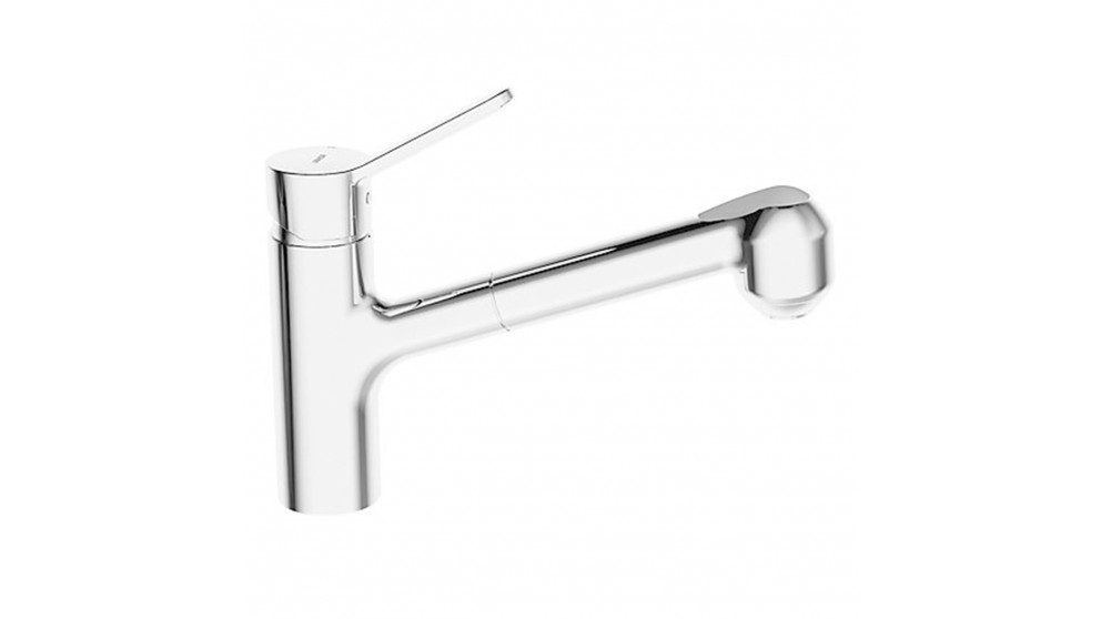 Pura Spout Kitchen Mixer Pull Out Spray