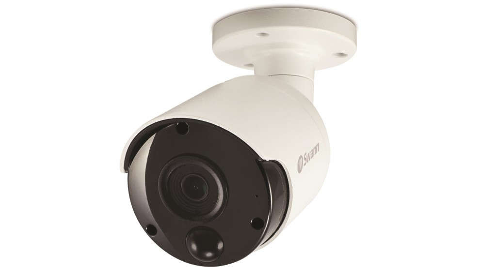 Swann 4k Thermal Sensing Spotlight Bullet IP Security Camera with Face Recognition