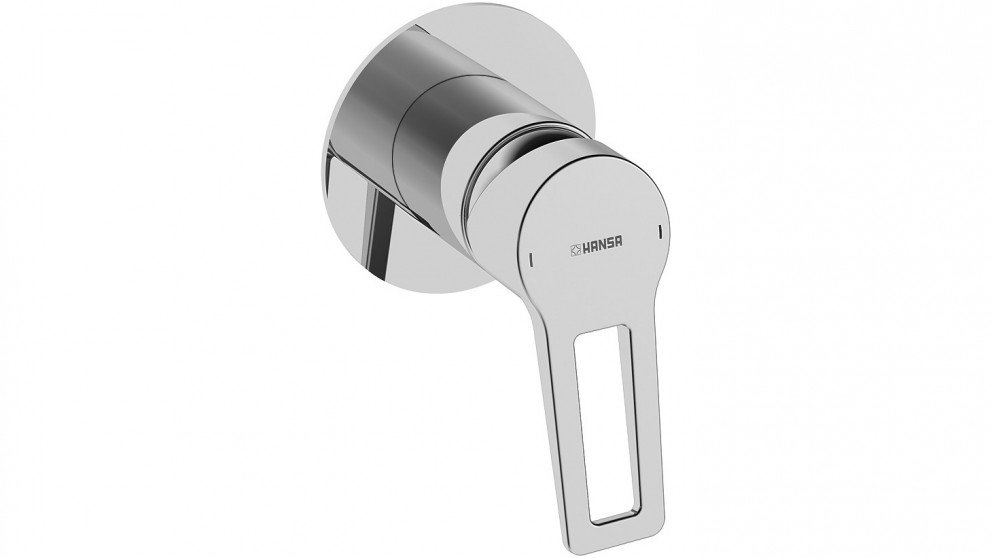 Hansa Twist Loop 90mm Shower or Bath Mixer with In-Wall Body