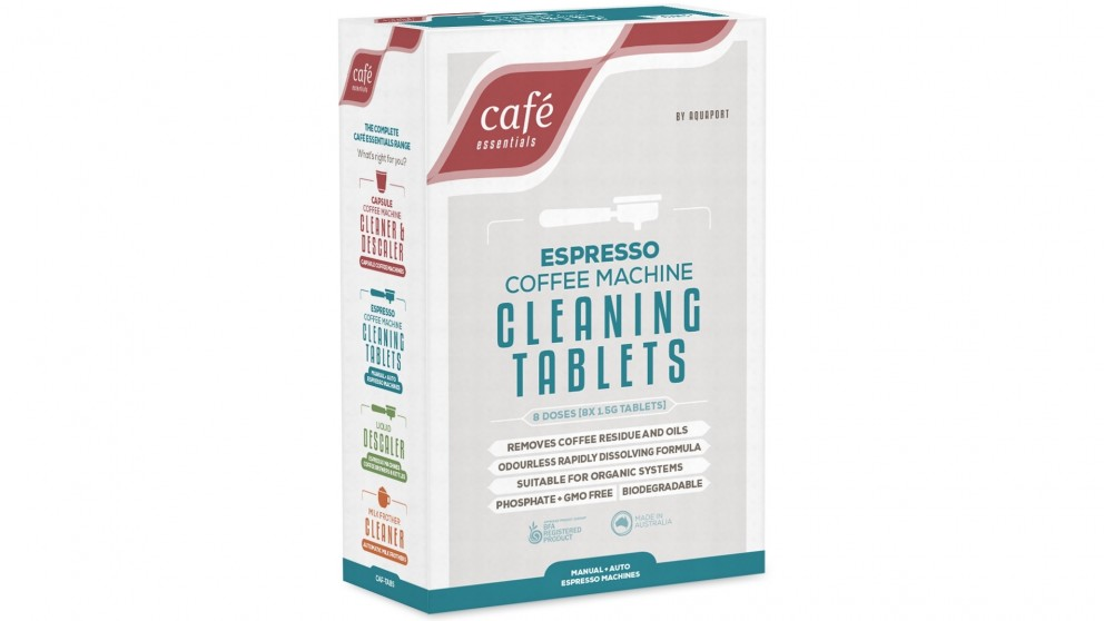 Cafe Essentials Cleaning Tablets for Espresso Coffee Machine